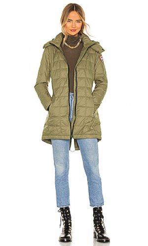 Куртка ellison Canada Goose. Цвет: военный стиль