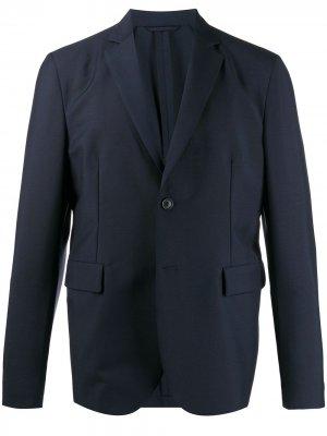 Пиджак на пуговицах Acne Studios. Цвет: синий