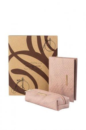 Подарочный набор Dimanche. Цвет: розовый