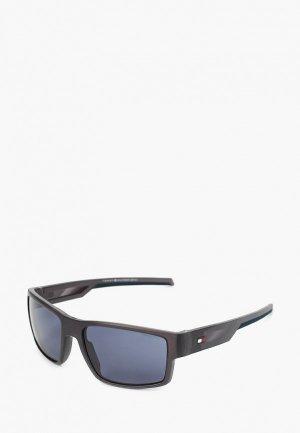 Очки солнцезащитные Tommy Hilfiger TH 1806/S RIW. Цвет: серый