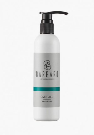 Гель для бритья Barbaro Emerald, 200 мл. Цвет: прозрачный