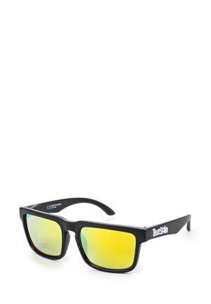Очки солнцезащитные True Spin. Цвет: черный