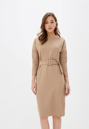 Платье Concept Club. Цвет: бежевый