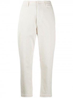 Зауженные брюки чинос Dondup. Цвет: нейтральные цвета