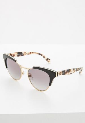Очки солнцезащитные Valentino VA4026 500111. Цвет: черный