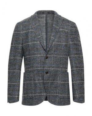 Пиджак ANGELO NARDELLI. Цвет: свинцово-серый