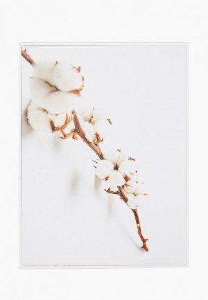 Картина Артвест 30х40 см. Цвет: белый