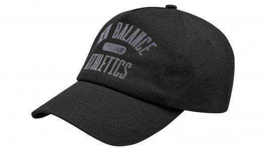 Кепки NB ATHLETICS 6-PANEL HAT New Balance. Цвет: черный