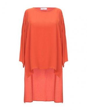 Блузка BEATRICE. Цвет: ржаво-коричневый