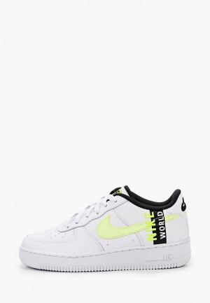 Кеды Nike AIR FORCE 1 LV8 (GS). Цвет: белый