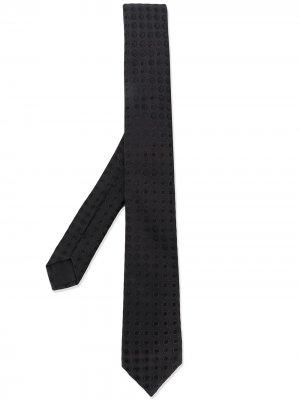 Галстук с английской вышивкой Dolce & Gabbana. Цвет: черный