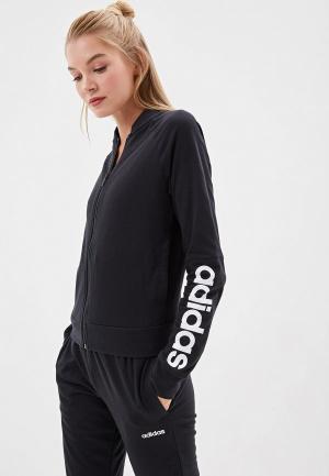 Костюм спортивный adidas WTS NEW CO MARK. Цвет: черный