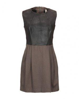 Короткое платье COAST WEBER & AHAUS. Цвет: темно-коричневый
