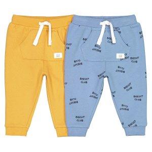 Комплект из 2 штанишек LaRedoute. Цвет: синий