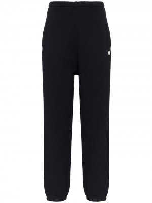 Спортивные брюки прямого кроя Fred Perry. Цвет: синий