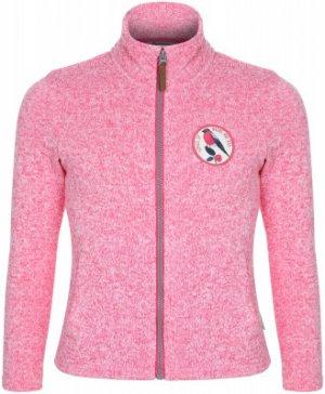 Джемпер флисовый для девочек , размер 104 Outventure. Цвет: розовый