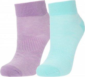 Носки женские , 2 пары, размер 39-42 Demix. Цвет: зеленый