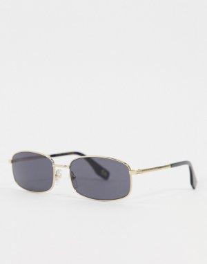 Солнцезащитные очки в узкой оправе 368/S-Серый Marc Jacobs