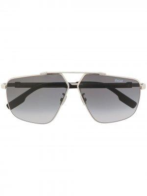 Солнцезащитные очки DiorStreet1 Dior Eyewear. Цвет: серебристый