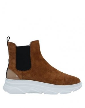 Полусапоги и высокие ботинки 181. Цвет: коричневый