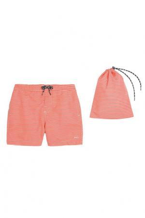 Оранжевые плавки LISBONNE Bonpoint. Цвет: оранжевый