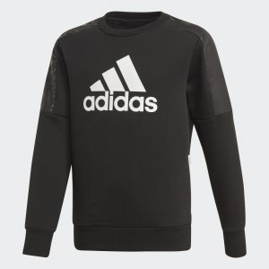 Свитшот Sport ID Performance adidas. Цвет: черный