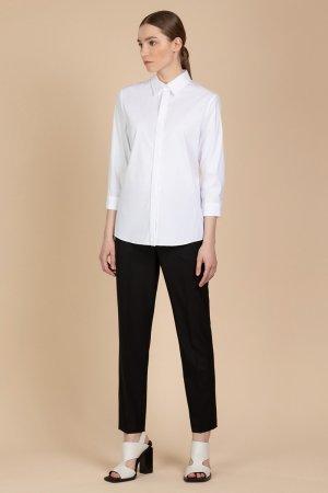Классические прямые брюки VASSA&Co. Цвет: черный