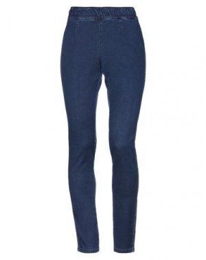 Джинсовые брюки MARANI JEANS. Цвет: синий