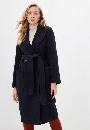 Пальто Seventy. Цвет: синий