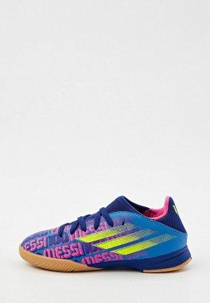 Бутсы зальные adidas X SPEEDFLOW MESSI.3 IN J. Цвет: разноцветный