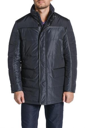 Куртка CUDGI. Цвет: черный