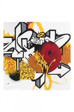 Картина «Урбанистическая мозаика 02», 2020 Evgeny Ches. Цвет: multicolor