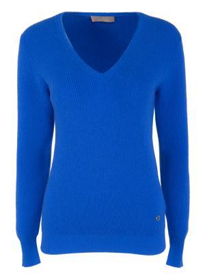 Кашемировый пуловер Cruciani. Цвет: синий