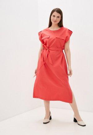 Платье Electrastyle. Цвет: розовый