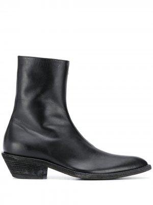 Ботинки с заостренным носком Haider Ackermann. Цвет: черный