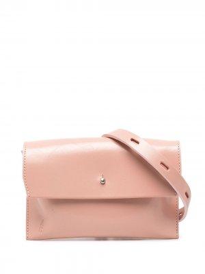 Клатч с клапаном Ally Capellino. Цвет: розовый