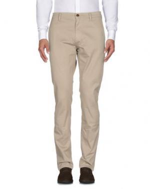 Повседневные брюки BOSS HUGO. Цвет: бежевый