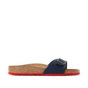 Туфли без задника с открытым мыском Madrid BIRKENSTOCK. Цвет: синий