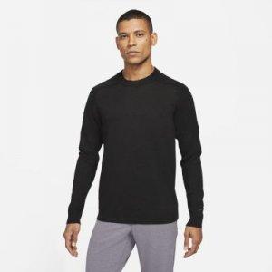 Мужской трикотажный свитер для гольфа Tiger Woods - Черный Nike