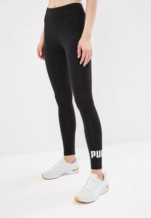 Леггинсы PUMA ESS Logo Leggings. Цвет: черный