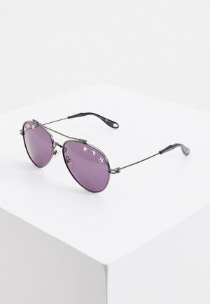 Очки солнцезащитные Givenchy GV 7057/N/STARS V81. Цвет: черный