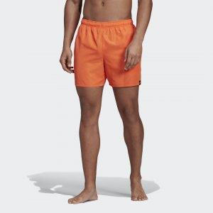 Пляжные шорты Solid Performance adidas. Цвет: оранжевый
