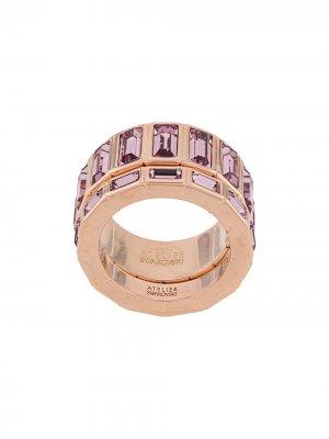 Кольцо Fluid Atelier Swarovski. Цвет: розовый