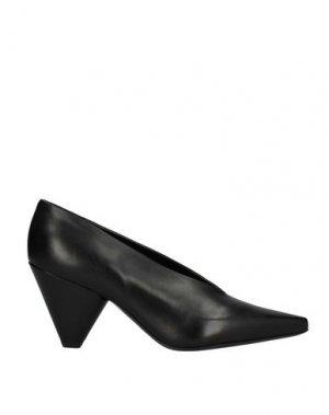 Туфли PREMIATA. Цвет: черный