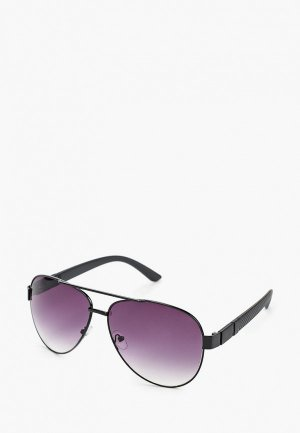 Очки солнцезащитные WOW Miami. Цвет: черный