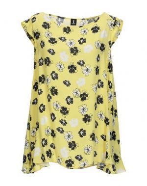 Блузка 1-ONE. Цвет: желтый