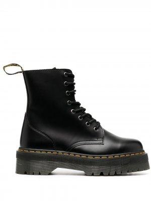 Массивные ботинки на шнуровке Dr. Martens. Цвет: черный