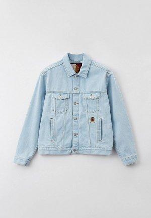 Куртка джинсовая Tommy Hilfiger Exclusive for Lamoda COLLECTION. Цвет: голубой