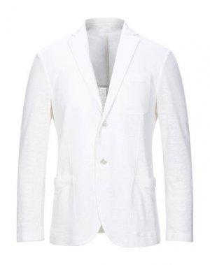 Пиджак CRUCIANI. Цвет: белый