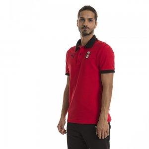 Поло AC Milan Badge Polo PUMA. Цвет: красный